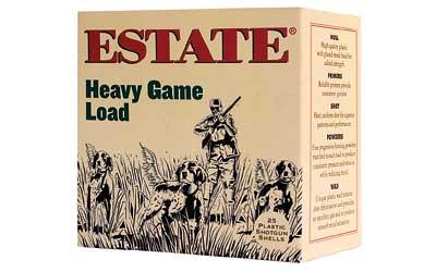 Estate HG128 Upland Hunting Loads 12 Ga 2.75 1-1|8 oz 8 Shot 25 Bx| 10 in.