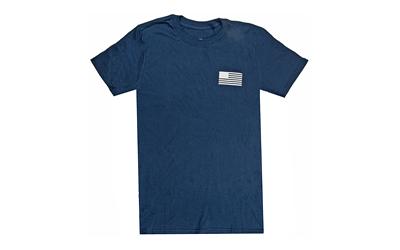 Glock AP95668 Shooting Sports Large Short Sleeve T-Shirt Navy Cotton