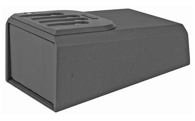 Gunvault GV105019 MiniVault 1050 Gun Safe Mechanical Illuminated Keypad/Key 16 Gauge Steel Black