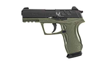 Gamo 611139354 Bone Collector Air Pistol SA|DA .177 Pellet & BB 16rd Black|OD