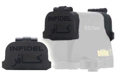GG&G, Inc. Scopecover for EOTech 512/552 w/ Infidel Marking, Black GGG-1275INF