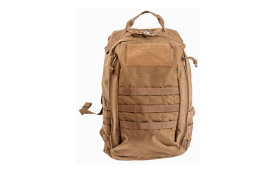 Grey Ghost Gear Lightweight Assault Pack, Mod 1, Backpack, Coyote Brown, Ripstop Nylon 6015-4