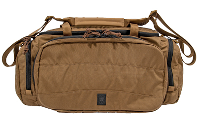 Grey Ghost Gear Range Bag, Coyote Brown, 500D Cordura Nylon, 60200-14
