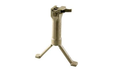 Grip Pod Grip Pod, Fits Picatinny, Steel Reinforced Legs, Cam Lever, Tan Finish GPS-V2-CL-T