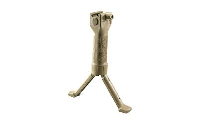 Grip Pod Grip Pod, Fits Picatinny, Steel Reinforced Legs, Tan Finish GPSV2T