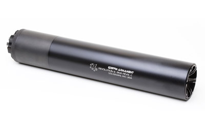 Griffin Armament Revolution Suppressor 9mm 7.6 Inch Black