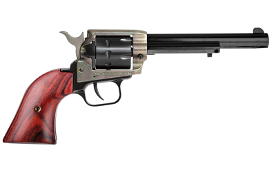 Heritage Mfg RR22999CH6 Rough Rider Small Bore 22 LR 6.50in. 9 Round Cocobolo Grip Blued