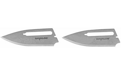 Havalon Redi-Knife Replacement Blades, Plain, Stai