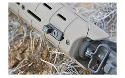 Impact Weapons Components Bipod Mount V2, Fits M-LOK & All Magpul MOE HandGuards, Black Finish BBF0