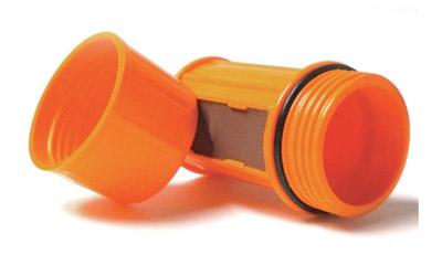 Industrial Revolution Match Case, Empty, Orange MT-EMPTY-CASE