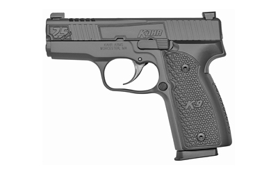 Kahr Arms K9094NC1 K9 25th Anniversary 9mm Luger Double 3.50in. 7+1 Black Hogue Aluminum Grip Sniper Gray Steel Slide