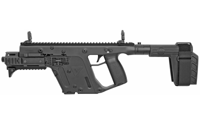 Kriss USA KV10PSBBL31 Vector Gen II SDP SB 10mm Auto 6.50in. 15+1 Black Black Polymer Grip SB Tactical SBX-K Arm Brace