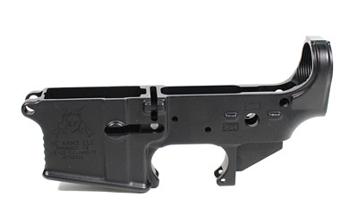 KE Arms Stripped Lower, Forged, 223 Rem/556NATO, Black Finish 1-50-01-032