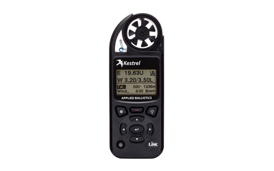Kestrel Elite, Weather Meter w/ Applied Ballistics, LinkWireless Connectivity,0857BLBLK-RUG