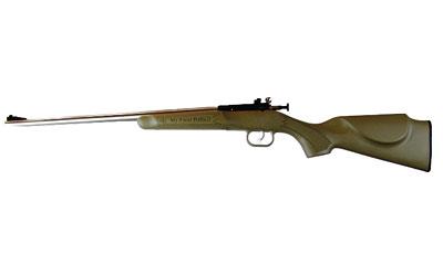 Crickett KSA2243 Single Shot Bolt 22 Long Rifle (LR) 16.125 1 Synthetic Desert Tan Stk Stainless Steel in.