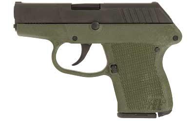 Kel-Tec P3ATPKGRN P-3AT 380 ACP Double 380 Automatic Colt Pistol (ACP) 2.7 6+1 Green Polymer Grip Black Parkerized in.