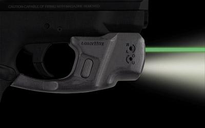 LaserMax CFSHIELDCG Centerfire Laser Light Combo Green Laser 120 Lumen S&W Shield 9 40 Frame