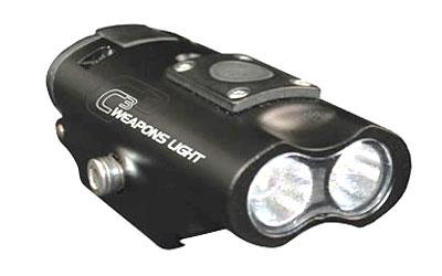 LUCID OPTICS C3 Weapons Light, Fits 1913 Picatinny Rail, 300 Lumens, Black L-C3-LIGHT