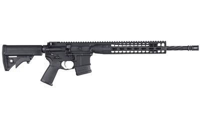 LWRC ICDIR5B16CAC LWRCI Direct Impingement *CA Compliant* Semi-Automatic 223 Remington|5.56 NATO 16.1 FH 10+1 Adjustable Black Stk Black Cerakote in.