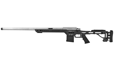 MasterPiece Arms PMR 308 Win 10+1 24in. Black V-Bedded BA Hybrid Chassis Stock Polished Black Right Hand