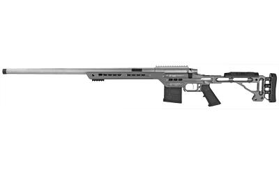 MasterPiece Arms 65CMPMRRHTNGPBA PMR Bolt 6.5 Creedmoor 24in. 10+1 Aluminum V-Bedded BA Hybrid Chassis Stk Tungsten