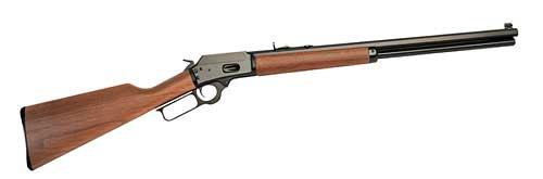 Marlin 10 + 1 44 Magnum Cowboy Lever Action w|20  Blue Barrel & Walnut Stock in.