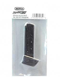 Bersa THUN380BLMAG Thunder 380 Magazine Thunder 380 380 Automatic Colt Pistol (ACP) 8 rd Metal Black Finish