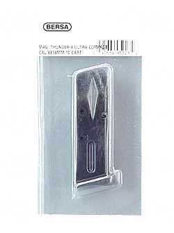 Bersa THUN9MMUCMMAG Thunder 9mm 10rd Aluminum Black Finish
