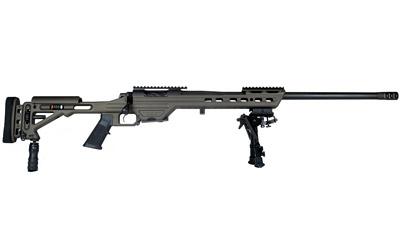 MasterPiece Arms 65MMBA Bolt Action  6.5 Creedmoor 24 10+1 Adjustable Black Stk Black Cerakote in.