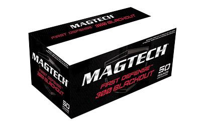 Magtech 300BLKA Rifle 300 AAC Blackout|Whisper (7.62X35mm) 115 GR Flat Base Hollow Point 50 Bx| 20 Cs