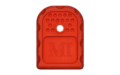 Midwest Industries Magazine Base Plate, 9mm/40 Cal, MI-GBP-9/40-RED