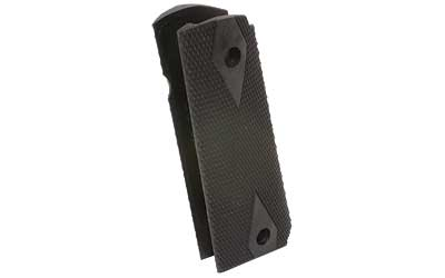 Pearce Grip PG19112 Side Panel Grips 1911 Government Black Rubber