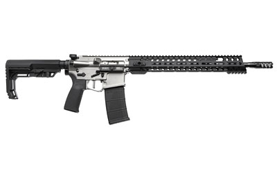 Patriot Ordnance Factory  Renegade Plus Semi-Automatic 223 Remington|5.56 NATO 16.5 30+1 Mission First Black Stk Nickel in.