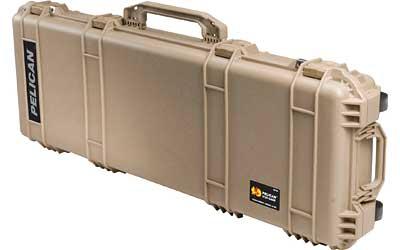 Pelican Case 42 X 13.5 X 5 Wheels Tan