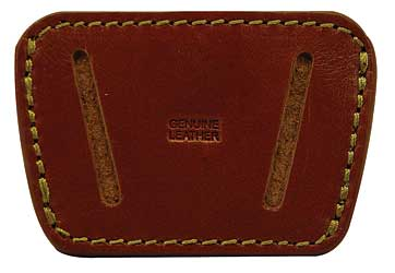 Peace Keeper 036 Belt Slide Inside|Outside Pants Small|Medium Frame Auto Leather Tan