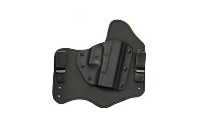 Homeland HLHSWMPSHIEL Homeland Hybrid S&W MP Shield 3 Barrel Leather Blk in.