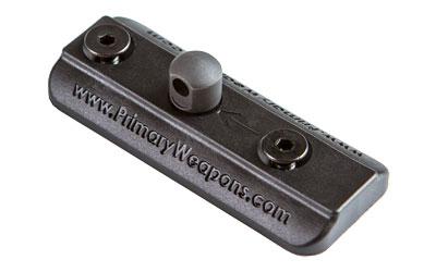 Primary Weapons Systems Keymod Bipod Adapter, Black Finish, Fits Harris Style Bipod 5KMHBEA1