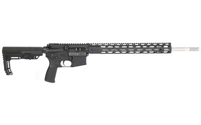 "Radical Firearms FR18224VAL15RPR Forged RPR Semi-Automatic 224 Valkyrie 18"" SS 15+1 Black 6 Position MFT Minimalist Stock"
