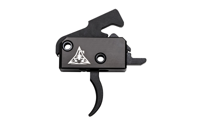 Rise Armament RA-140 Super Sporting AR-Platform Black Hardcoat Anodized Single-Stage Curved 3.50 lbs Right