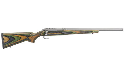Ruger 7226 77/22 22 Hornet 6+1 18.50in. Green Mountain Matte Stainless Right Hand
