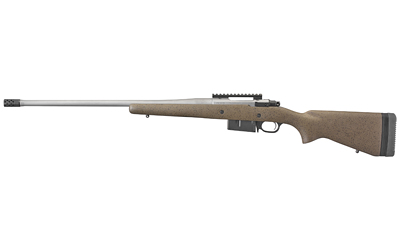 Ruger 47198 Hawkeye Long-Range Hunter 6.5 Creedmoor 5+1 22in. Brown w/Black Speckles Matte Stainless Right Hand