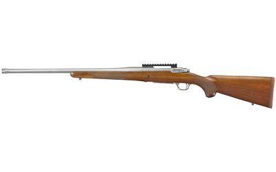 Ruger 57124 Hawkeye Hunter 7mm Rem Mag 3+1 24in. American Walnut Satin Stainless Right Hand