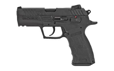 Sar USA CM9BL CM9 9mm Luger 3.80in. 17+1 Black Black Steel Black Interchangeable Backstrap Grip