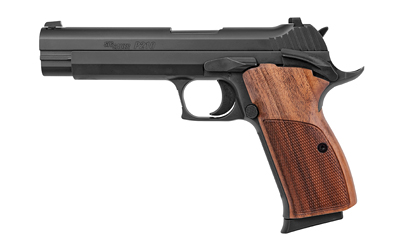 Sig Sauer 210A9B P210 9mm Luger Single 5in. 8+1 Walnut Grip Black Stainless Steel Slide