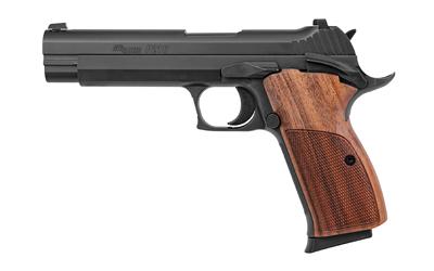Sig Sauer 210A9B P210 9mm Luger Single 5in. 8+1 Walnut Grip Black Stainless Steel Slide