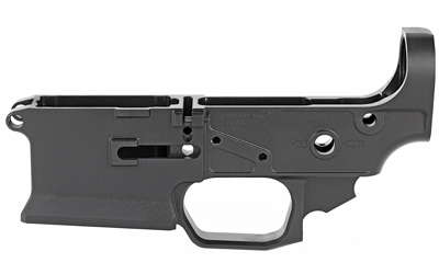 Sharps Bros Llc Sblr08 Livewire Stripped Lower Ar-15 Multi-Caliber Black Hardcoat Anodized