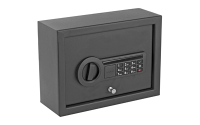 Stack-On PDS1800E Electronic Small Drawer Safe Pistol Safe Electronic Keypad 12in. W x 8.75in. D x 4.5in. H Steel Black
