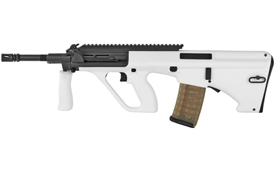 Steyr AUG A3 M1 223 Rem5.56 NATO 16in. 30+1 Black White Fixed Bullpup Stock