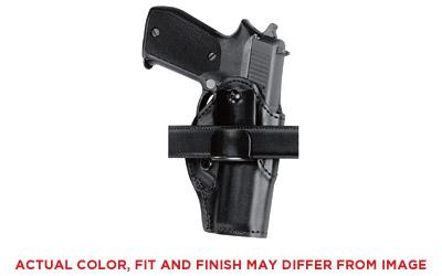 Safariland 2728361 Model 27 Inside Pants Holster Glock 19|23 Polymer Black