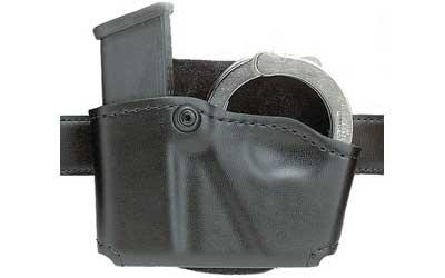 Safariland 5738321 573 Holds 1 Mag & 1 Pair Cuffs Black Suede